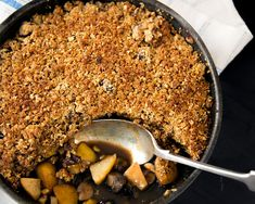Spiced Pear and Chestnut Crumble – Merchant Gourmet Vegan Christmas, Christmas Recipes, Merry Christmas, Spiced Pear, Just Cooking, Sweet Tooth, Dinner Recipes, Spices, Cooking Recipes