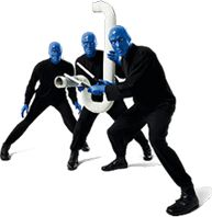 "@BlueManGroup Their description says it best: ""music, comedy, multimedia theatrics. Euphoric entertainment"". A must see!"