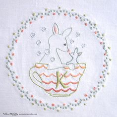 Embroidery Pattern PDF K is for Kangaroo In a от sherimcculley