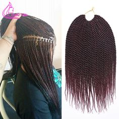 Kanekalon  Afro Twist Crochet Braids Synthetic Braiding Hair Extension Soft Dread Locks Havana Mambo Faux Locs 30Strands/Pack