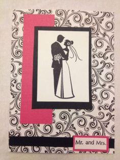 Handmade wedding shower card on eBay birdwatcher70