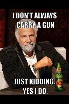 Haha ... yep. A Springfield XDs 9mm to be exact.