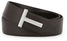 Please click on the picture to go to the detail page. TOM FORD Reversible Leather Logo Belt
