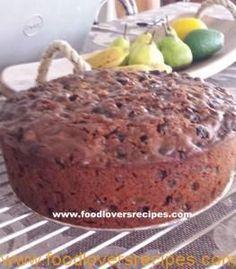 STAATMAKER VRUGTEKOEK Baking Recipes, Cookie Recipes, Dessert Recipes, Christmas Cake Recipe Traditional, Kos, Cupcake Cakes, Fruit Cakes, Cup Cakes, Cake Cookies