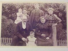 Antique photograph/ Cabinet Card Nice Family Photo by RagtagStudio, $3.00