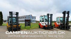 Campen Auktioner A/S - DanTruck  #602, 603 & 624