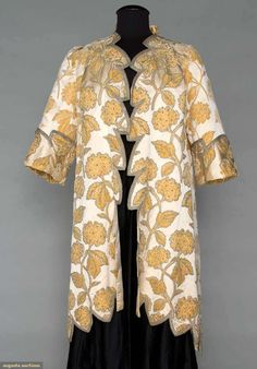 Cut Velvet Evening Coat, 1905-1910, Augusta Auctions, November 2, 2011 NYC, Lot 228