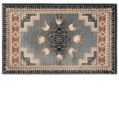 Goods Of The Woods Spirit Green Rectangular Rug