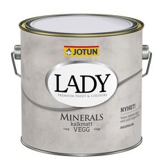 Jotun LADY Minerals Kalkmaling til væg Concrete Effect Paint, Jotun Paint, Jotun Lady, Mineral Paint, Wonderwall, Kitchen Paint, Color Names, Interior Paint, Kitchenaid