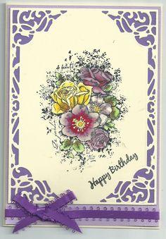 Floral arrangement by Doreen Worth