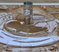 Anamorphic Drawings by István Orosz | Who Designed It? | We Heart It