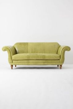 our new anthropologie sofa for makeshift society. sigh. love.