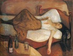 Edvard Munch: The Day After, 1894-1895                                                                                                                                                     More