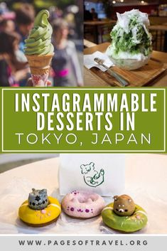 Tokyo, Japan is known for having all kinds of wonderful dining options but what about desserts in Tokyo? This list of yummy Tokyo sweets are worth the calories and make for some great photos too! Tokyo Japan Travel, Japan Travel Guide, Asia Travel, Japan Trip, Tokyo Trip, Kyoto Japan, Nagoya, Osaka, Refreshing Desserts