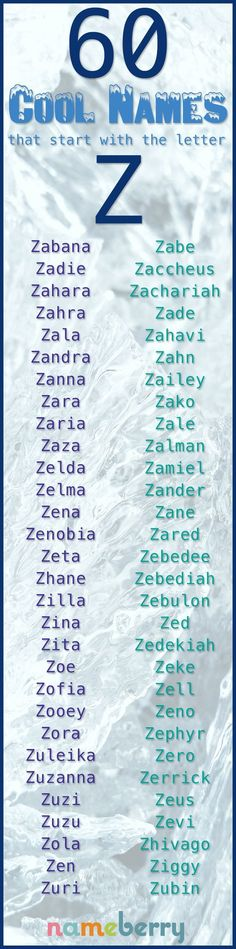 Z is arguably the zippiest zestiest letter for a baby name to start with. - Unique Baby Name - Ideas of Unique Baby Name - Z is arguably the zippiest zestiest letter for a baby name to start with. Unisex Baby Names, Cool Baby Names, Pretty Names, Baby Baby, Hipster Boys, Southern Baby Names, Uncommon Baby Names, Biblical Names, Writing