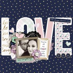 Sweet Shoppe Designs - Making Your Memories Sweeter by elma Couple Scrapbook, Scrapbook Journal, Wedding Scrapbook, Scrapbook Sketches, Scrapbook Page Layouts, Scrapbook Albums, Scrapbook Supplies, Scrapbook Cards, Anniversary Scrapbook