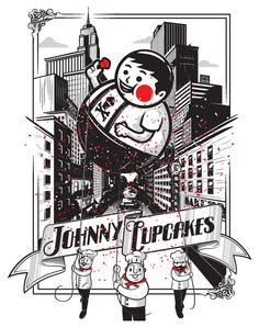 Johnny Cupcake, reminds me of Fallout 3 graphics