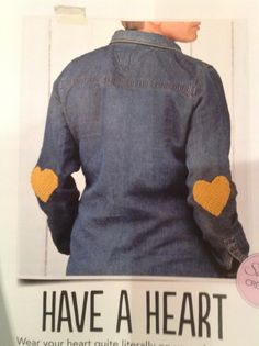 Heart elbow patches | Simply Crochet Issue 23