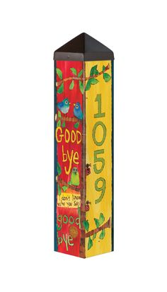 We offer FREE shipping on orders over $99 within the continental USA.  This Art Pole is part of a special collection called The Lyric Project. With chart-topping lyrics by Lennon & McCartney and bold artwork by Stephanie Burgess, it will put a smile on your face and bring a bit of nostalgia to your garden.  A Studio M exclusive, Art Poles are an impactful way to bring beautiful artwork to any landscape. Ultra-durable for years of enjoyment. Easy installation and no digging is required. All…