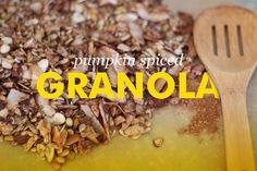 Pumpkin Spice Paleo Granola