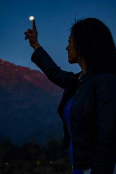 La luna 😍 Santiago -Chile