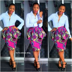 NEW Eki Skirt by THEAFRICANSHOP on Etsy, £32.00