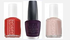My favorite polishes.