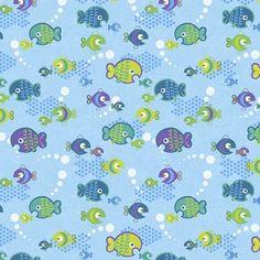 Deep deep sea little fish