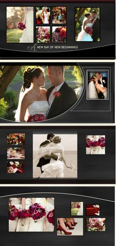 #Wedding Vows Panoramic #PhotoBook template by Blue Angel