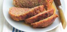 Domácí sekaná Turkey Meatloaf, Pork Recipes, Banana Bread, Menu, Homemade, Desserts, Food, Menu Board Design, Essen