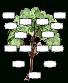 Blank Family Tree Chart | Templates At Allbusinesstemplates within Fill In The Blank Family Tree Template