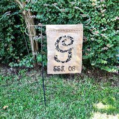 Yard flag I made!