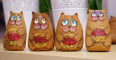 готовые кофейные коты
