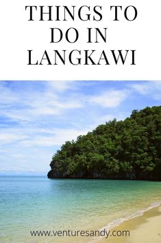 Langkawi is an Archipelago of 99 Islands, 30km of its Mainland Malaysia .