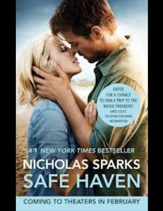 Safe Haven By Nicholas Sparks ... I don't usually read his books, but this one I liked a lot.