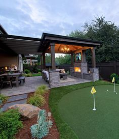 Outside Covered Patio . Outside Covered Patio . √ 27 Gorgeous Covered Patio Ideas for Your Outdoor Space Design Patio, Backyard Patio Designs, Outdoor Kitchen Design, Covered Patio Design, Back Yard Patio Ideas, Outdoor Kitchen Patio, Outdoor Fireplace Patio, Nice Backyard, Cover Patio Ideas