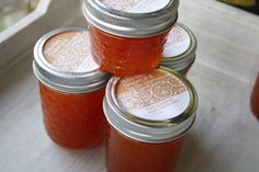 This is hands down my favorite recipe for a simple, whole-graperfuit preserve. Stephanie calls it marmalade, I call it jam; it's all good.