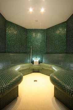 A Steam Room ...