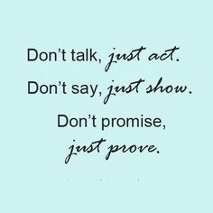 Just prove its without talk any nonsense thing ---