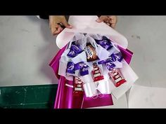 Simple Chocolate Bouquet Tutorial - YouTube