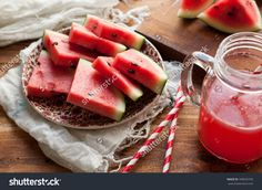 stock-photo-watermelon-juice-in-a-mason-jar-with-paper-straws-and-melon-pieces-cut-in-the-background-on-a-348935795.jpg (1500×1096)