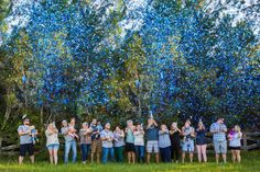 XL Gender Reveal Confetti Cannons - Pink or Blue