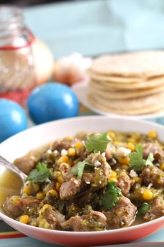 Latin Pork & TomatilloStew