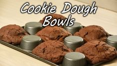 How to Make Cookie Dough Bowls