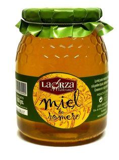 Exquisita #miel de romero 100% ibérica. La Orza de Valderromero. Miel con propiedades protectoras para el hígado y aparato digestivo. En www.laorzaiberica.com