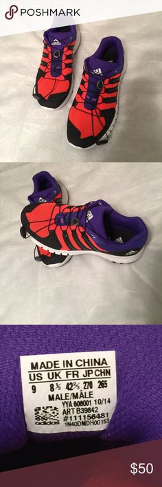 Men's Adidas shoes Running shoes. Brand new, never worn. Bungee lace, Adiprene Adidas. Cross trail running. Adidas Shoes Athletic Shoes