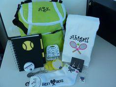 inspiring! Tennis Gift Basket - Tennis Themed Gift Set #tennisgifts #tennistheme