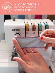 Easy 20 sewing hacks projects are offered on our site. Read more and you will not be sorry you did. Easy 20 sewing hacks projects are offered on our site. Read more and you will not be sorry you did. Serger Projects, Sewing Projects For Beginners, Sewing Hacks, Sewing Tutorials, Sewing Tips, Dress Tutorials, Sewing Basics, Brother 1034d Serger, Serger Stitches
