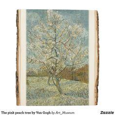 Shop The pink peach tree by Van Gogh Wood Panel created by Art_Museum. Van Gogh Prints, Inspirational Text, Peach Trees, Wood Paneling, Wood Wall Art, Wood Print, Vintage World Maps, Artwork, Pink