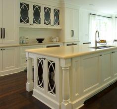 The Granite Gurus: Whiteout Wednesday: 5 White Kitchens with Warm Tones